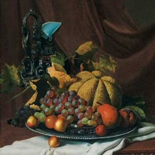 Andrew John Henry Way: Still Life with Fruit and Ewer