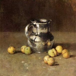 Emil Carlsen – Still LIfe with Pitcher and Pivar Oil Painting Reproductions