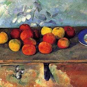 Cezanne, Paul – Apples and Biscuits Oil Painting Reproductions