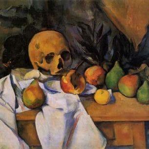 Cezanne, Paul – Still Life with Skull