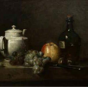 Chardin, Jean-Baptiste-Simeon – Still Life Oil Painting Reproductions