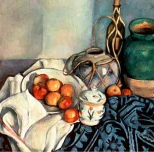 Cezanne, Paul – Still Life with Apples Oil Painting Reproductions