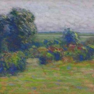 Arthur W. Dow: Autumn Sketch