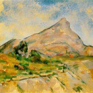 Cezanne, Paul: Mont Sainte Victoire Oil Painting Reproductions
