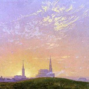 Caspar David Friedrich – Abend Oil Painting Reproductions