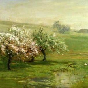 Arthur Parton – Blossoming Tress