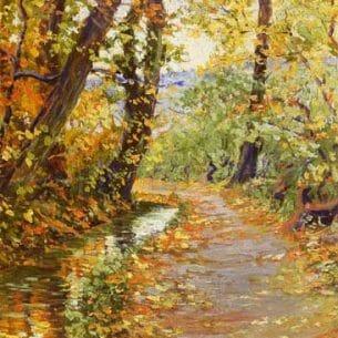 Egon Schiele – Winding Brook
