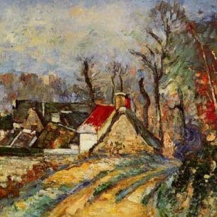 Cezanne, Paul – The Turn in the Road at Auvers
