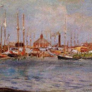 Chase, William Merritt(USA): Near Bay Ridge Oil Painting Reproductions