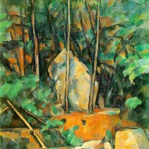 Cezanne, Paul: Cistern in the Park at Chateau Noir Oil Painting Reproductions