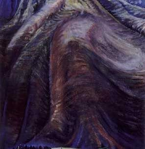 Emily Carr(Canadian, 1871-1945): The Mountain Oil Painting Reproductions