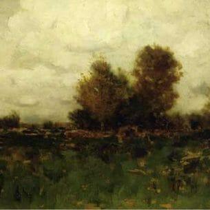 Alexander Helwig Wyant – Autumn in Arkville