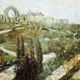 Ernest Lawson – Morningside Heights Oil Painting Reproductions