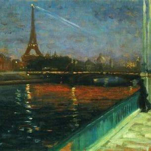 Alfred Henry Maurer – Paris, Nocturne