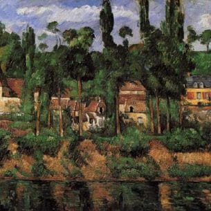 Cezanne, Paul – Houses in Provence – The Chateau de Madan Oil Painting Reproductions