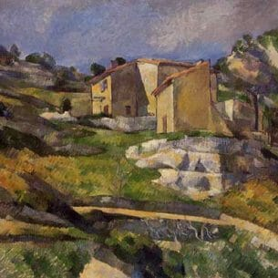 Cezanne, Paul – Houses in Provence – the Riaux Valley near L'Estaque Oil Painting Reproductions
