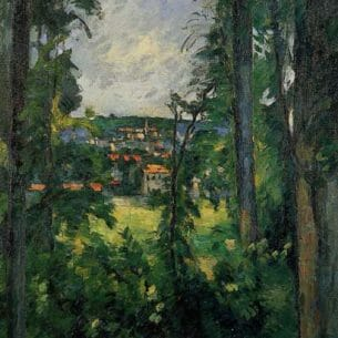 Cezanne, Paul – Auvers-sur-Oise, View from Nearby