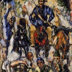Cezanne, Paul – Don Quixote, Seen from the Front Oil Painting Reproductions