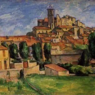 Cezanne, Paul – Gardanne Oil Painting Reproductions