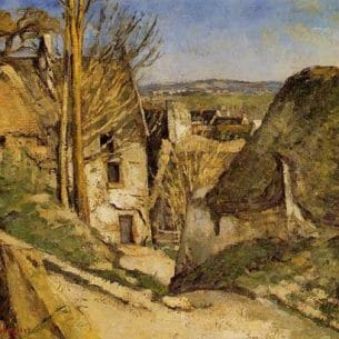 Cezanne, Paul – House of the Hanged Man, Auvers-sur-Oise Oil Painting Reproductions