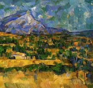 Cezanne, Paul – Mont Sainte-Victoire Oil Painting Reproductions