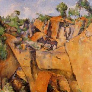 Cezanne, Paul – The Bibemus Quarry Oil Painting Reproductions