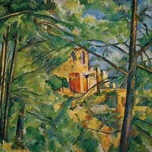 Cezanne, Paul – The Chateau Noir Oil Painting Reproductions