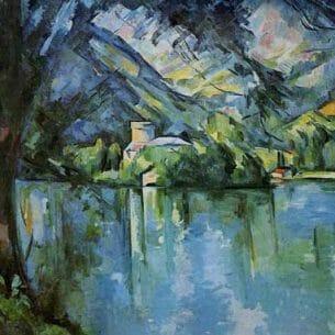 Cezanne, Paul – The Lac d'Annecy