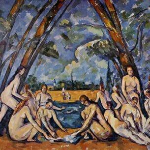 Cezanne, Paul – The Large Bathers