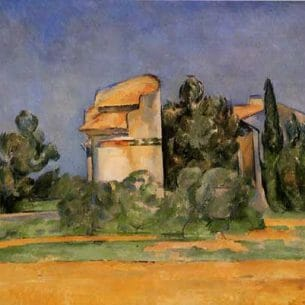 Cezanne, Paul – The Pigeon Tower at Bellevue Oil Painting Reproductions