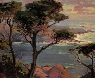 Bischoff, Franz – Lonely Headlands, Point Lakes Oil Painting Reproductions