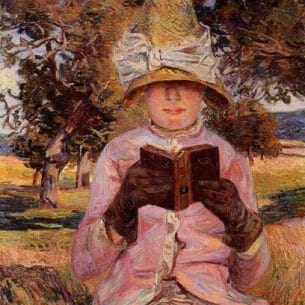 Armand Guillaumin: Madame Guillaumin Reading