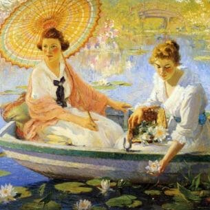 Colin Campbell Cooper – Summer Oil Painting Reproductions