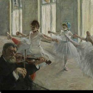 Degas, Edgar: Ballet Rehearsal
