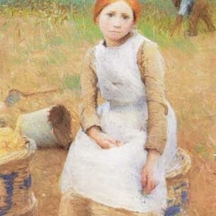 Clausen, Sir George(UK): Little Rose Oil Painting Reproductions
