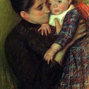 Cassatt, Mary – Helene de Septeuil Oil Painting Reproductions