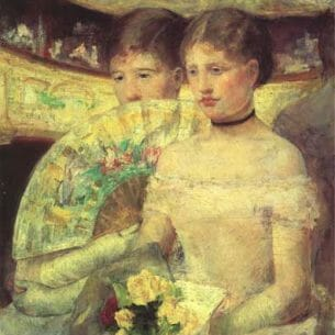 Cassatt, Mary(USA): The Loge Oil Painting Reproductions