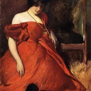 Alexander, John White(USA) – Black and Red