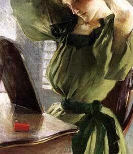 Alexander, John White(USA): Young Woman Arranging Her Hair