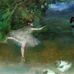 Degas, Edgar – Les Pointes Oil Painting Reproductions