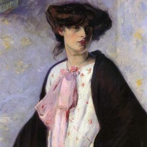 Alfred Henry Maurer – Woman with a Pink Bow