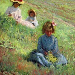 Anna Lee Stacey – September on the Hillside Oil Painting Reproductions