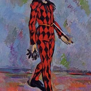 Cezanne, Paul – Harlequin Oil Painting Reproductions