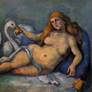 Cezanne, Paul – Leda and the Swan Oil Painting Reproductions