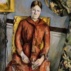 Cezanne, Paul – Madame Cezanne in a Yellow Chair Oil Painting Reproductions