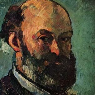 Cezanne, Paul – Self Portrait Oil Painting Reproductions
