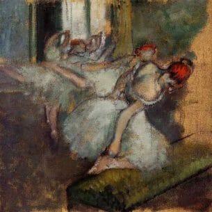 Degas, Edgar – Ballet Dancers Oil Painting Reproductions
