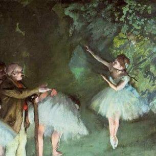 Degas, Edgar – Ballet Rehearsal