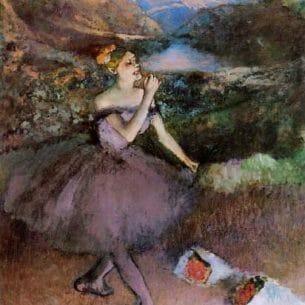 Degas, Edgar – Dancer with Bouquets