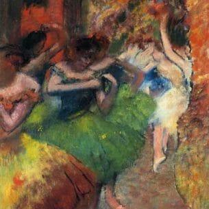 Degas, Edgar – Dancers in the Wings